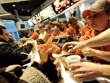 McDonald's Re-Opening In Galleria Vittorio Emanuele