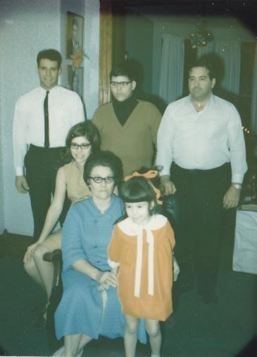 1965 family photo